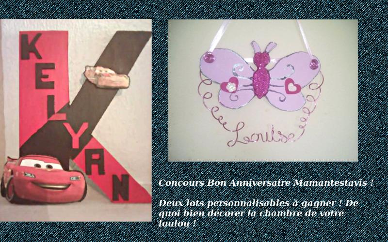 Concours Bon Anniversaire Mamantestavis Les Idées Aurélie Blog De