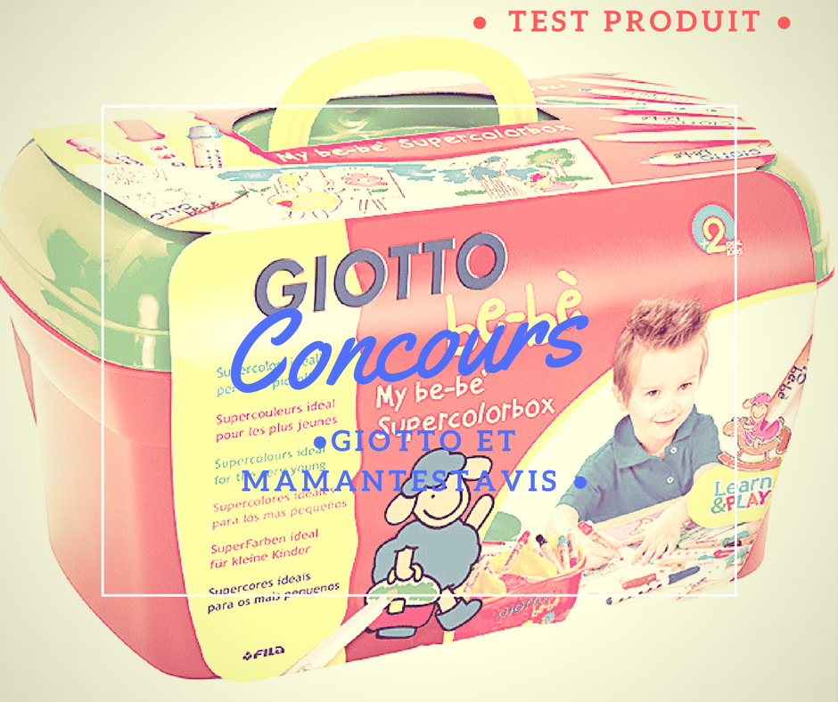 concours box giotto enfant
