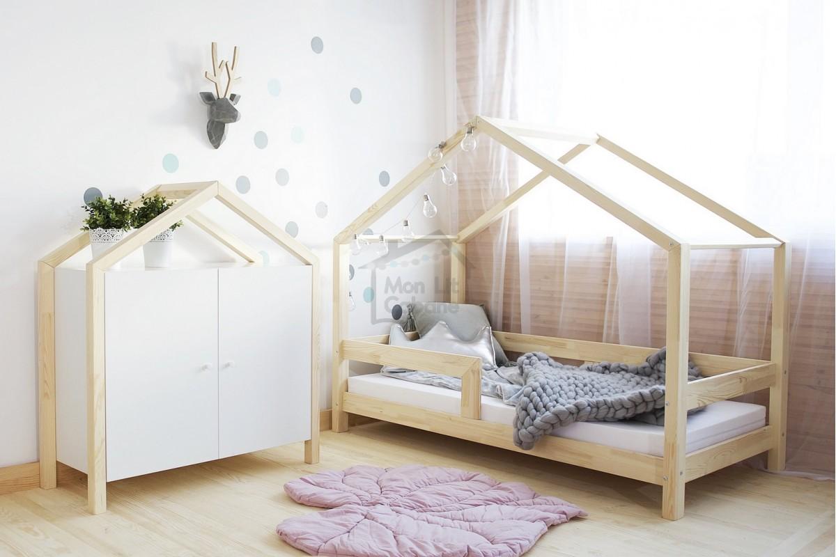 Chambre Lit Cabane Fille le lit cabane de mini qui devient grande - blog de maman